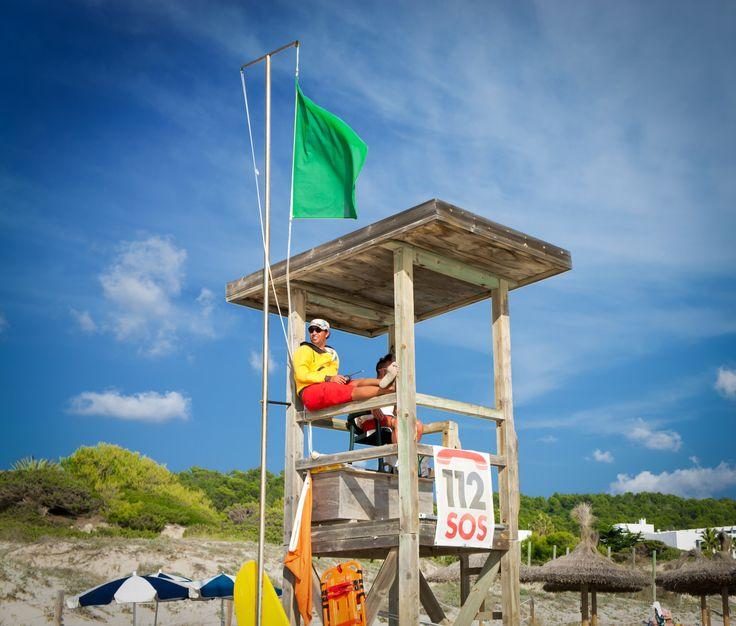 Lifeguard - Lifeguard in Sant Tomas Beach - Menorca, Spain