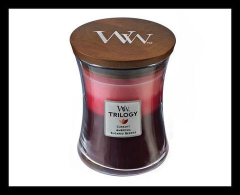 Woodwick Candle - Fruit Temptation Trilogy
