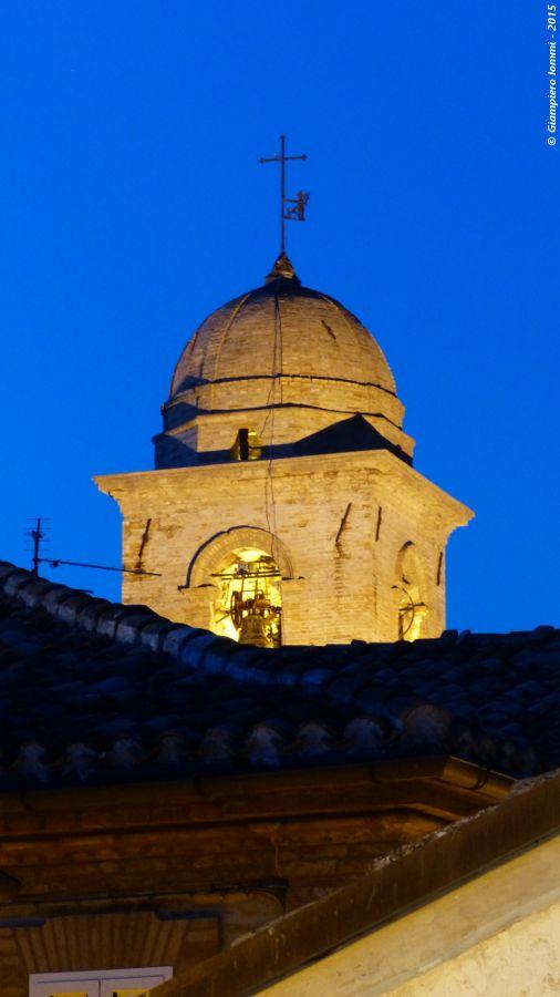 "Monte Vidon Corrado - walking through the village of art and hats ... Detail of ""Saint Vito"" church !!! Monte Vidon Corrado -  particolare del campanile  della chiesa di San Vito ! #HatsDistrict"