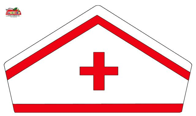 Nurse-Hat-Craft.jpg (640×381) | Literasy | Pinterest