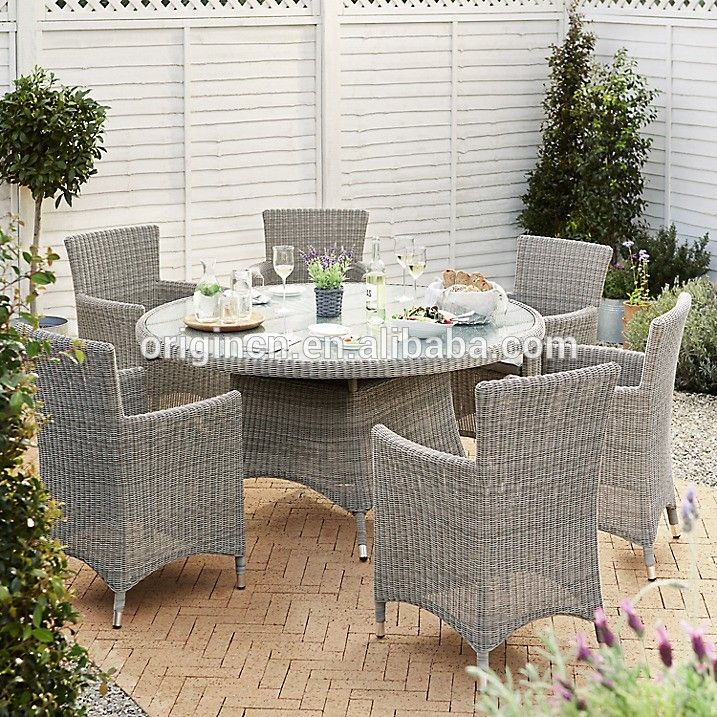Luxury banquet used viro wicker furniture set outdoor rattan retro dining table and chairs, View retro dining table and chairs, OEM, Origin Product Details from Jinhua Origin Industrial & Trading Co., Ltd. on Alibaba.com