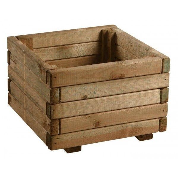 17 mejores ideas sobre jardinera de madera en pinterest - Jardinera de madera ...