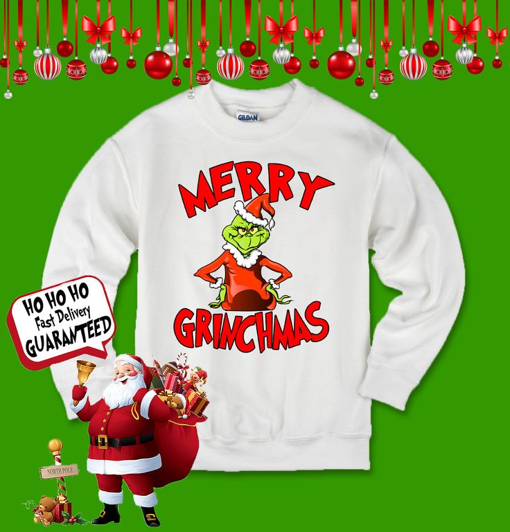 10 best Grinch Ugly Christmas Sweater Funny Shirt Cute Gift Ugly ...