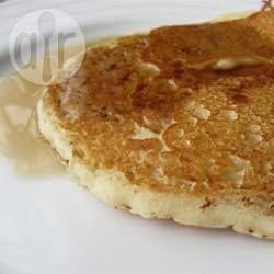 Dit beslag maakt lichte, luchtige en heerlijke pannenkoeken.