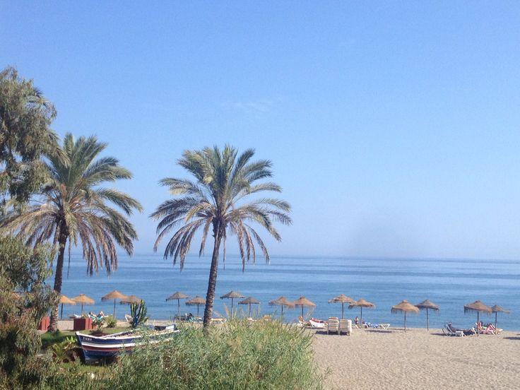 Marbella Espana beach puerto banus