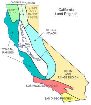 the history and features of california A brief primer on california's geography, culture, demographics, politics, and weather for visitors part of california driving: a survival guide.