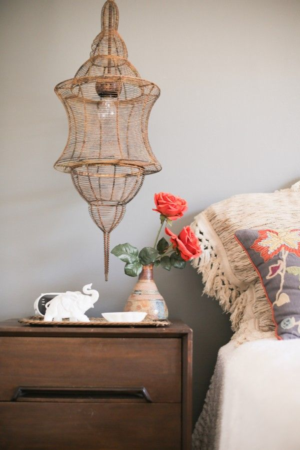 Beth Jones's Bohemian Home Tour | theglitterguide.com