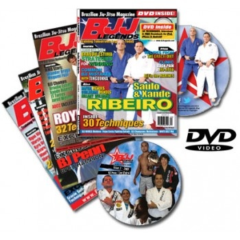 Jiu-Jitsu Magazine from BJJ Legends, the world famous authority.  Royce Gracie to BJ Penn, Mendes Brothers, Dvd and mobile media in each issue. Don't Miss a Move.