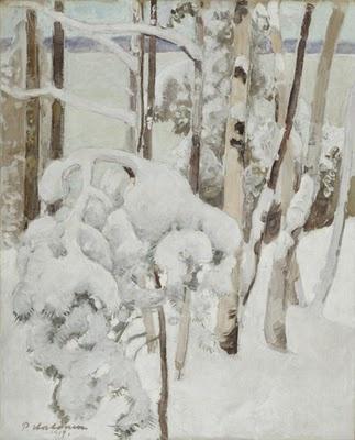 Pekka Halonen, 1917