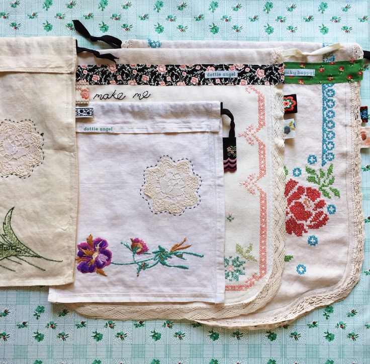 Love these project sacks that @dottieangelyarn made! #sew #makesomething
