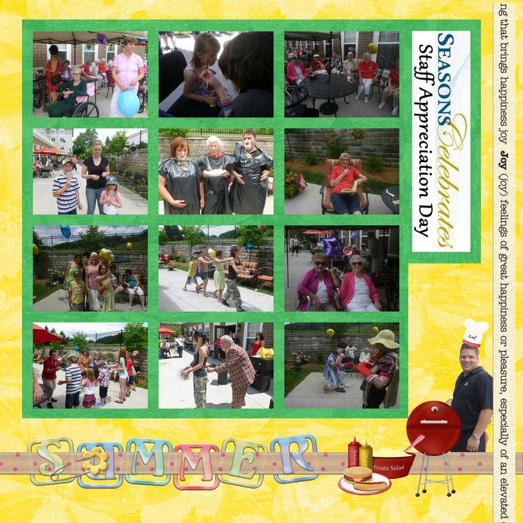 Staff Appreciation Day @ Seasons Dufferin Center - Summer 2013