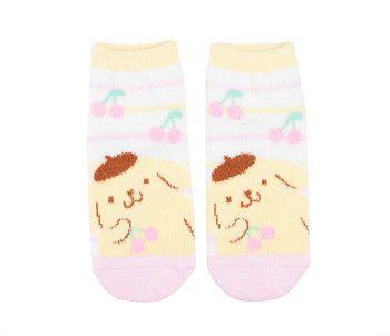 Pompompurin Socks: Cherries