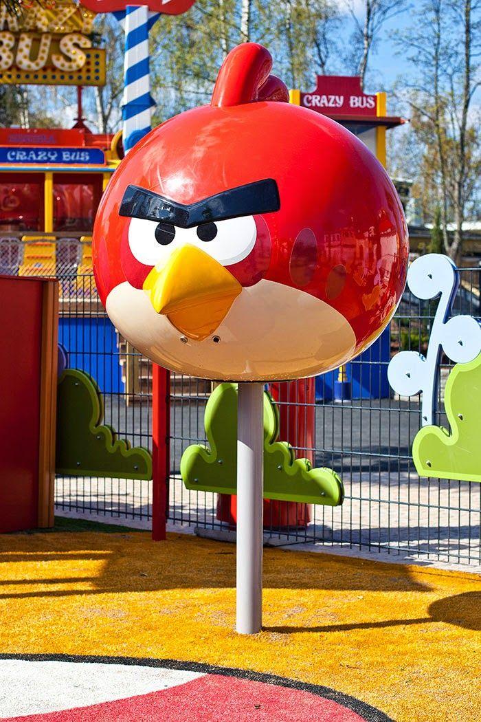 Angry Birds Land @ Särkänniemi Adventure Park. #sarkanniemi #tampere visit: http://www.sarkanniemi.fi