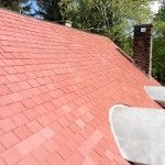 Unfading Red roofing slate