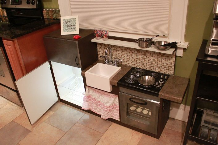 One Piece Play Kitchen Do It Yourself Home Projects From