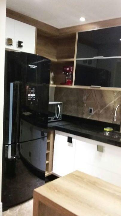 Las 25+ mejores ideas sobre Geladeira preta en Pinterest  Geladeira black, R # Cozinha Pequena Com Geladeira Preta