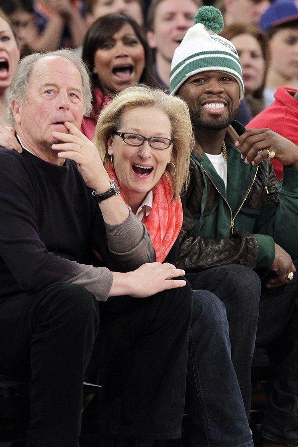 Meryl Streep and 50 Cent: BFFs?