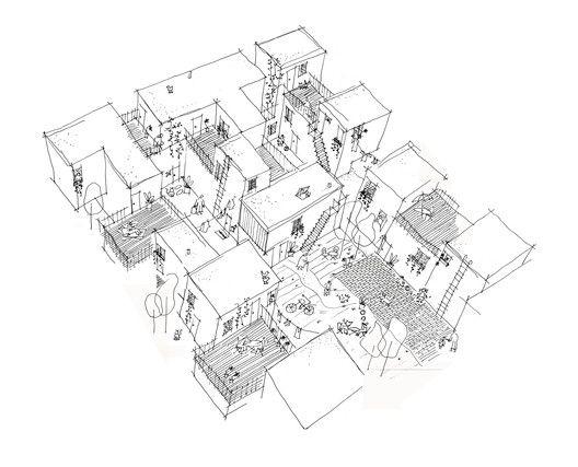 Centre Village,© 5468796 Architecture