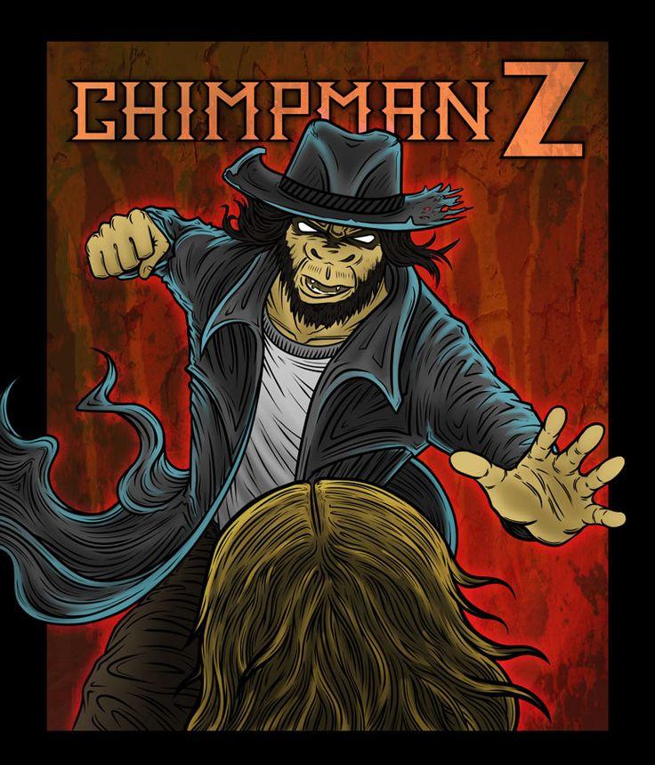 Chimpman-Z Promo Illustration by JesseGiffin on DeviantArt