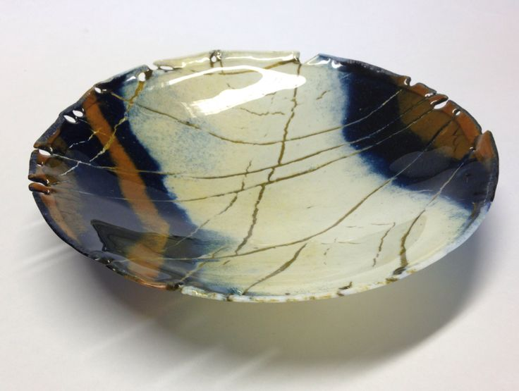 Claire Hall butterfly bowl