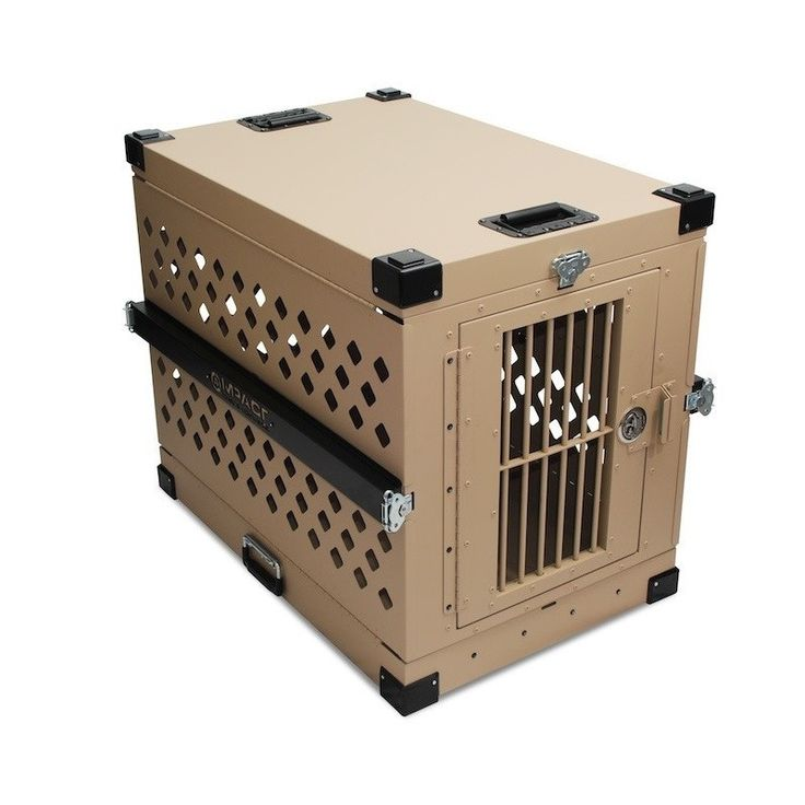 Aluminum Collapsible Dog Crate