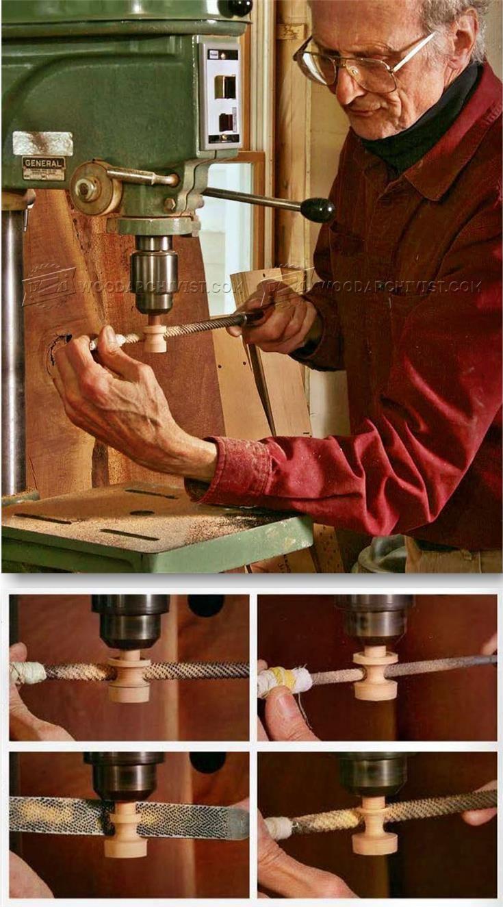 DIY Wooden Knobs - Drawer Construction Techniques | WoodArchivist.com