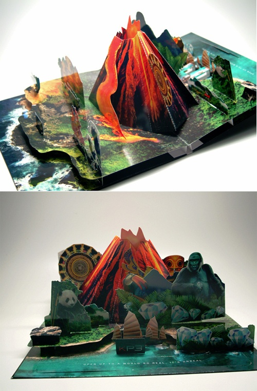 Print Express | 20 Examples of Creative Brochure Design TOTALLY AWESOME, if we could do this.