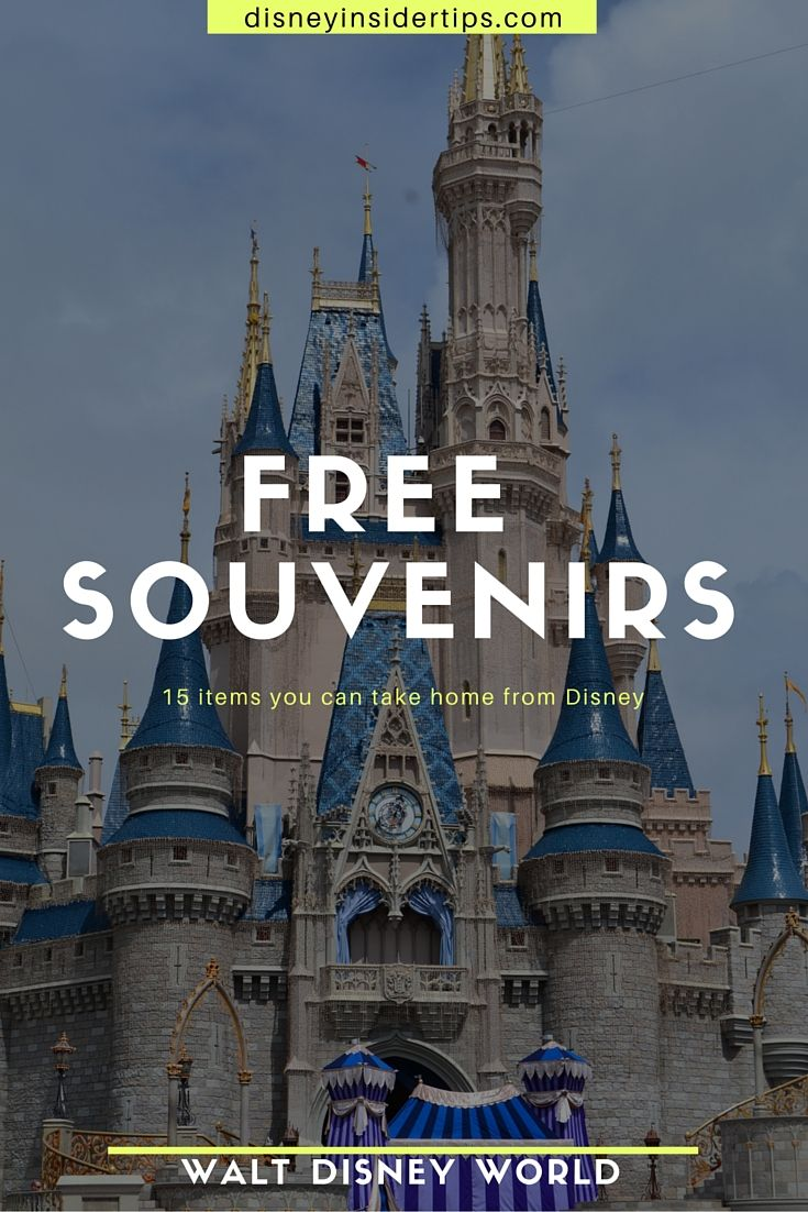 There are a ton of things you can get for FREE at Walt Disney World! Check out these 15 Free Disney World Souvenirs.