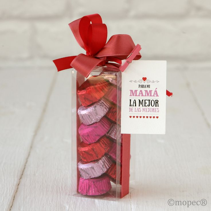Detalle dulce de mopec para el d a de la madre o san - Dulces de san valentin ...