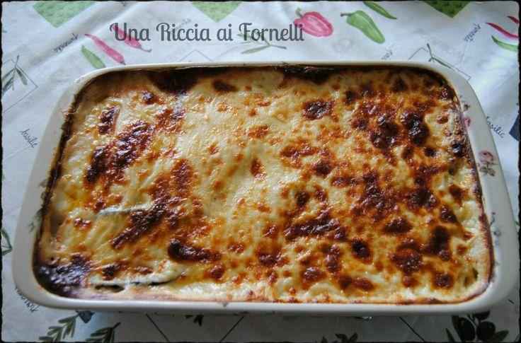 Moussaka, ricetta della Grecia - Una Riccia ai Fornelli