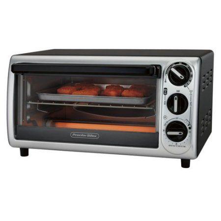 Proctor Silex 4 Slice Modern Toaster Oven , Model# 31122, Black