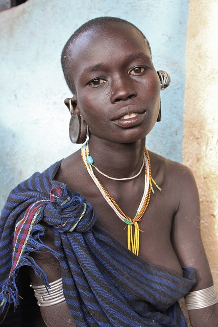 Surma Girl, Ethiopia by Jeremy Curl Photography, via Flickr