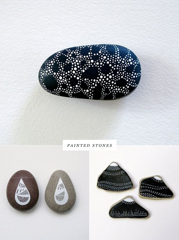 painted stones by Natasha Newton