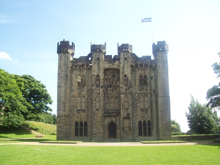Hylton Castle in tyne and Wear, England