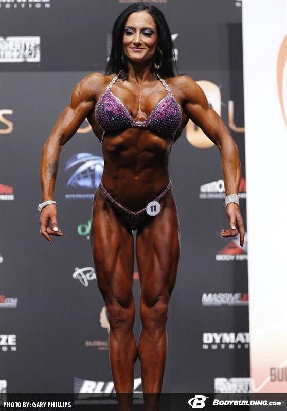 image Carla haug female bodybuilder looking buff