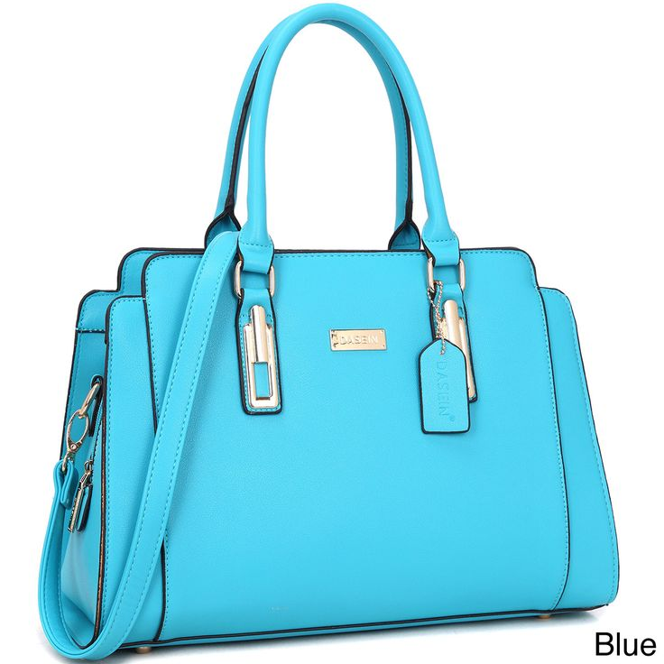 Dasein Women's Faux Satchel Handbag