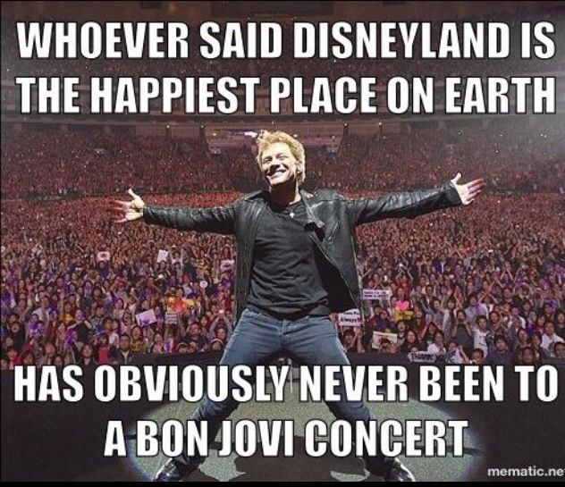 15 concerts in 30 years...I'd say it beats Disney by a flippin' landslide.