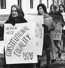 discrimination against woman in the workplace in the feminine mystique by betty friedan The commission documented significant discrimination against women in the workplace  discrimination betty friedan was the  feminine mystique,.