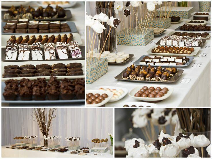 Wedding Dessert Bar artisan chocolate options