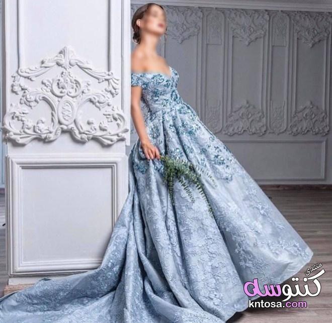 فساتين خطوبة منفوشة Formal Dresses Formal Dresses Long Dresses