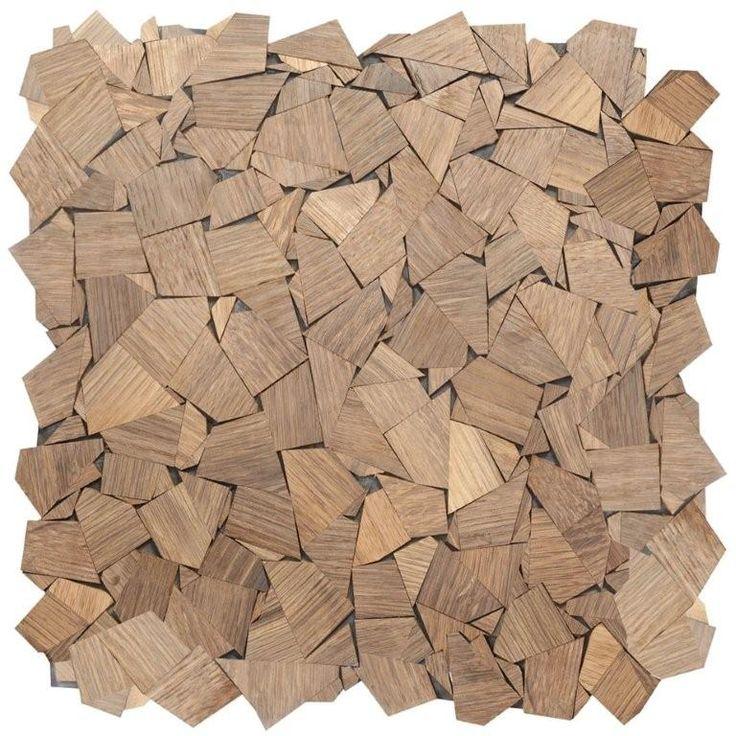Impression Veneers Mosaics - Jigsaw Smoked Oak