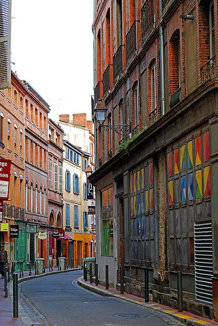 Les Carmes, cool neighborhood near the center of Toulouse