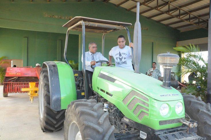 De Groene Partij gedeputeerde/lijsttrekker James Pablo Kroon ondersteunt landbouwinitiatieven Bonaire!