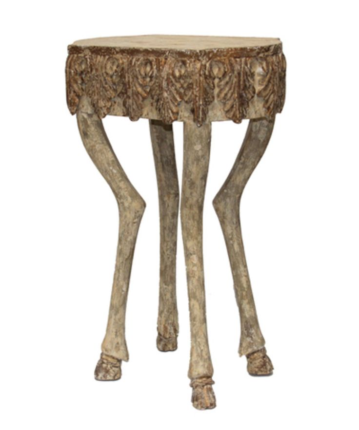Stag Leg Accent Table   30