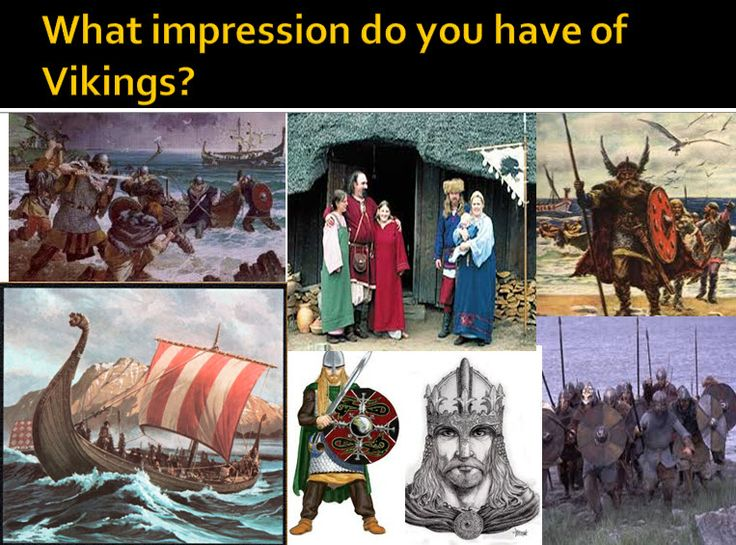 Who were the Vikings and why did they settle in the UK?