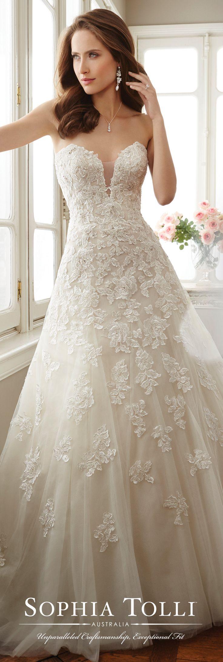 17 beste afbeeldingen over sophia tolli wedding dress for Sophia tulle wedding dress