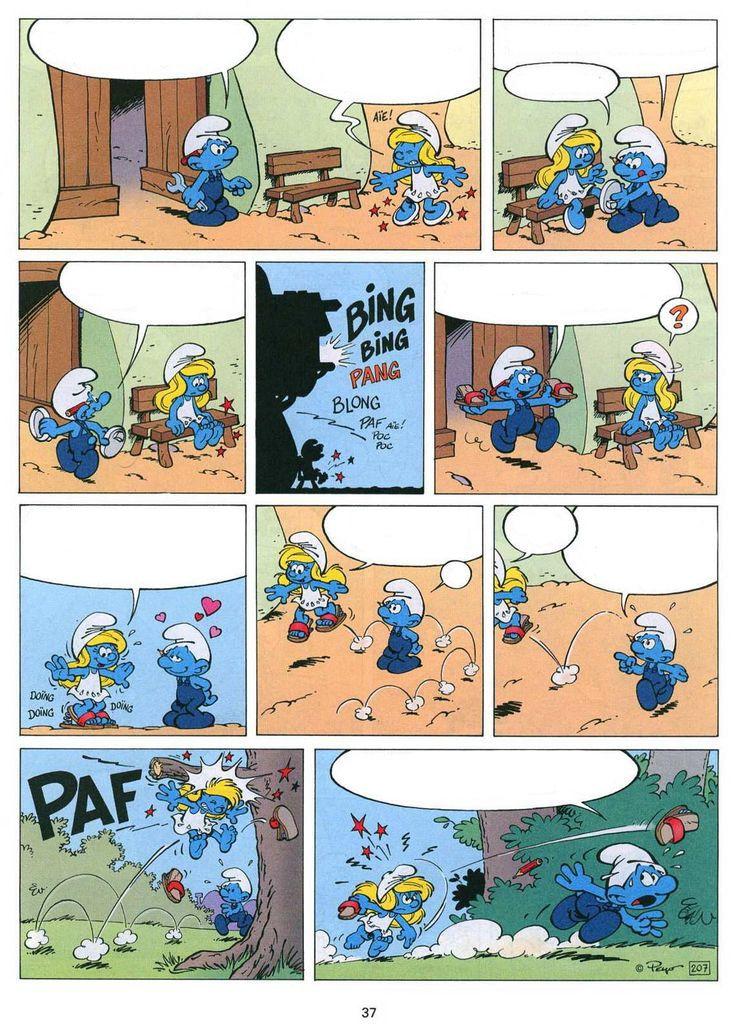 stripverhaal om in te bewerken