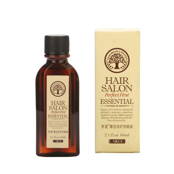 Hair Care Moroccan Pure Argan Oil Hair Essential Oil For Dry Hair Types Hot Sale