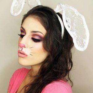 Best 25 Bunny makeup ideas on Pinterest Deer face paint Bunny