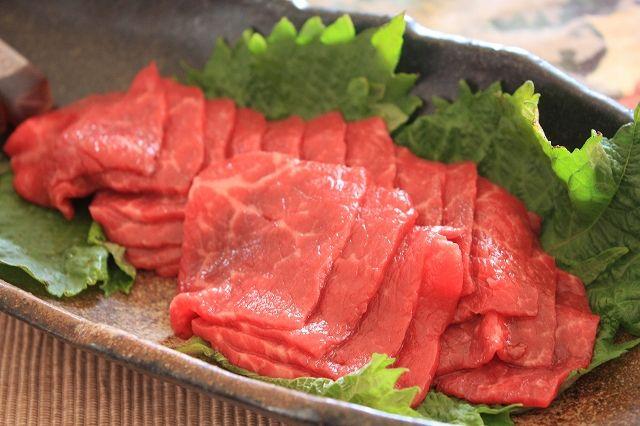 The Sashimi of beef